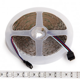 Tira de 600 LEDs SMD 5050 5M RGB IP21 Interior