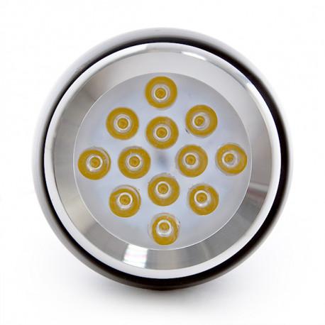 Hanging Round White LED Lamp 12W 1100Lm 30.000H