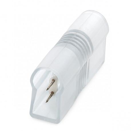 Straight Connector Neon Flex 80