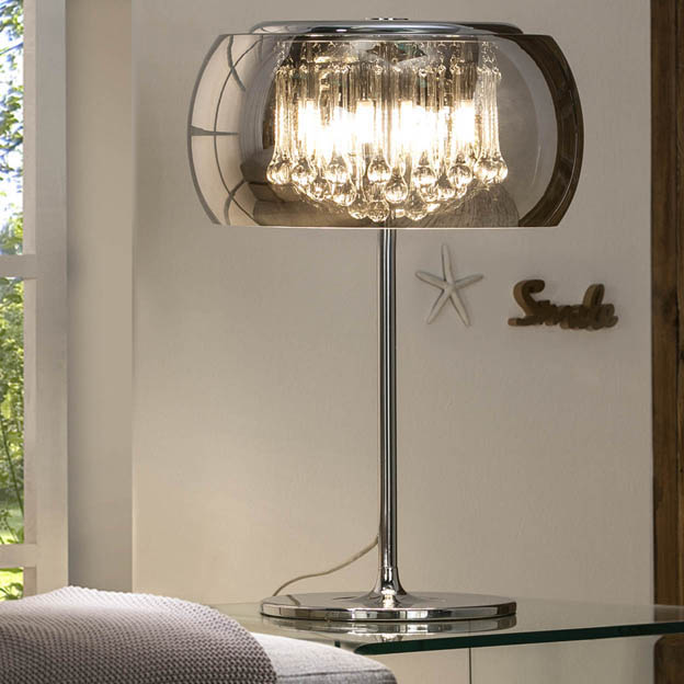 Sch 508222 Table Lamp Argos 4xg9 With