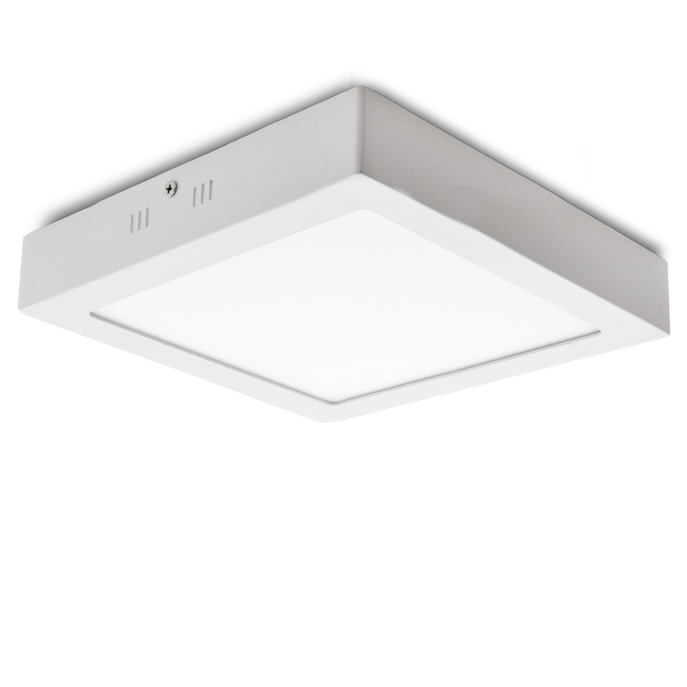 Ceiling Light Led Square Surface Mounted 225mm 18w 932lm 30 000h