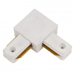 90º Connector Tracklight Rail White