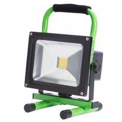 Proyector de LEDs para Exterior con Batería Recargable 20W 2000Lm 30.000H