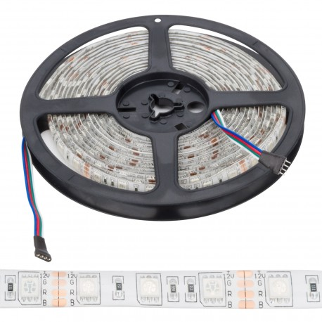 LED Strip 300 X SMD 5050 5M RGB IP65