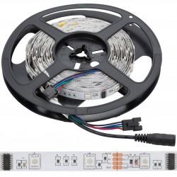 Tira de 150 Leds 5M 12VDC SMD5050 Digital RGB Interior