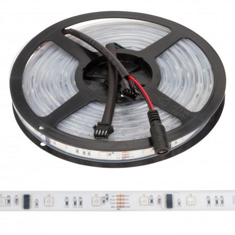 Tira de 150 leds 5m 12vdc smd5050 digital rgb exterior - Tiras de led para exterior ...