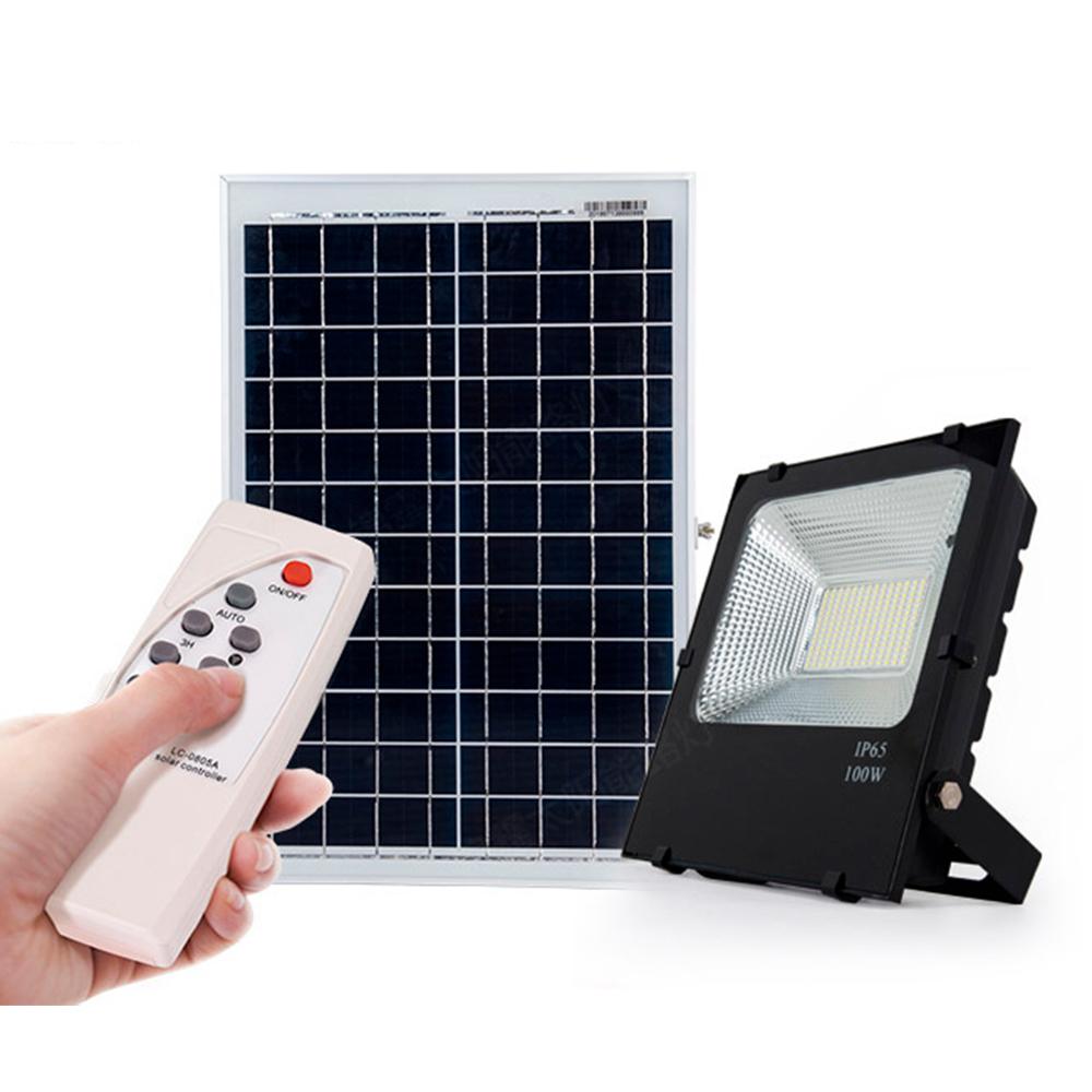 Led Floodlight Solar 30w Sensor