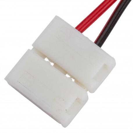 Conector para Tira de LEDs 12VDC SMD5050 2 Vías Simple
