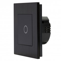 Backlit Touch Dimmer - Black up to 700W