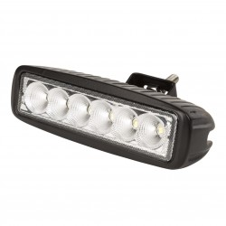 Barra de LEDs 18W 9-33VDC IP68 para Automóviles y Náutica