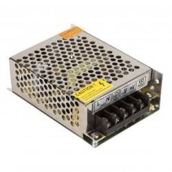 Transformador para Tiras de LEDs 12VDC 36W/3A IP25 Interior