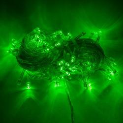 Guirnalda de 100 LEDs IP44 220V 10 Metros Verde