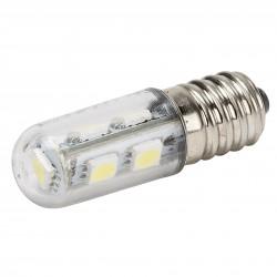 """Lámpara de LEDs E14 """"Pebetera"""" 48mm Largo 1W 100Lm 30.000H"""