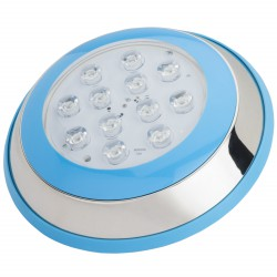 Foco de Piscina de LEDs Montaje Superficie Ø230mm 12W Luz: Blanco Natural
