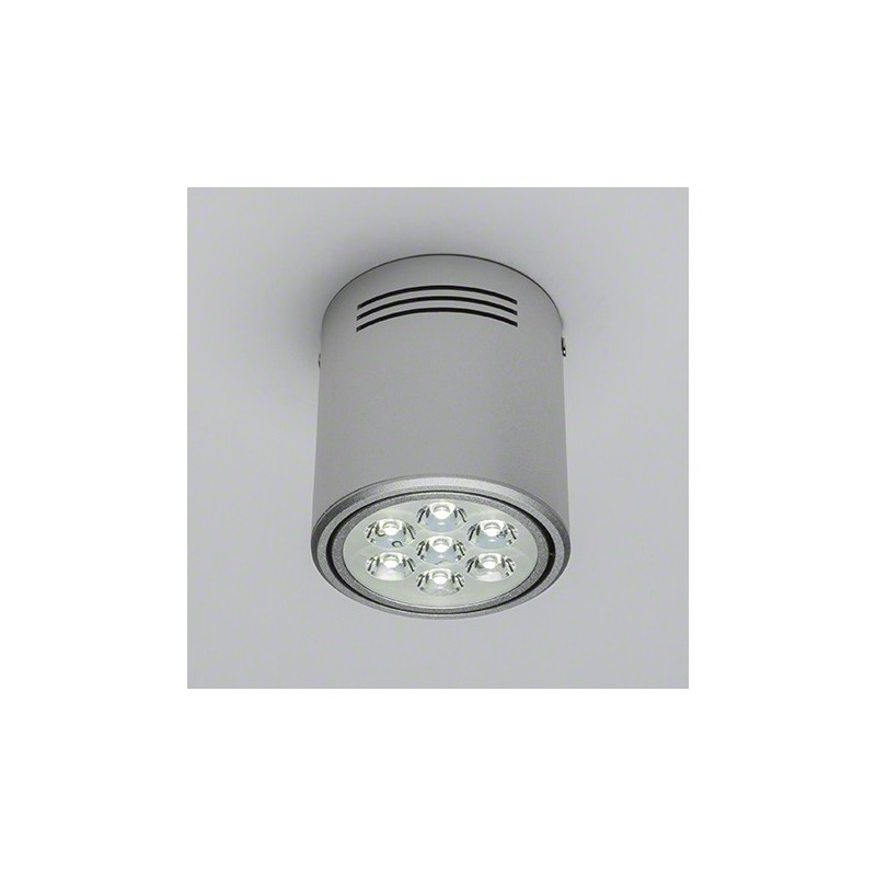 Foco Downlight de Superficie de LEDs Aluminio 7W 700Lm 30.000H
