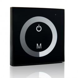 Dimmer Empotrable Táctil para Tiras de LEDs Unicolor 12-24VDC hasta 144/288W