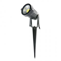 LED COB Spot for Gardens with Stake 5W 450Lm  30.000H