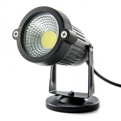 Foco de LEDs COB para Jardínes 5W 450Lm  30.000H