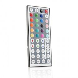 Controlador RF para Tiras de LEDs RGB con Mando 12-24VDC hasta 144/288W