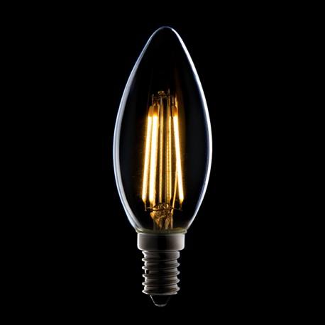 Lampe Ampoule Filament Led E14 4w 380lm 30 000h