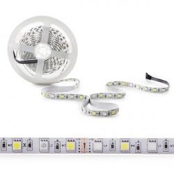 Tira de 360 LEDs SMD 5050 5M RGB-Blanco Frío IP25 Interior