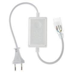 Enchufe/Controlador para Tiras de LEDs 230VAC Frío/Cálido