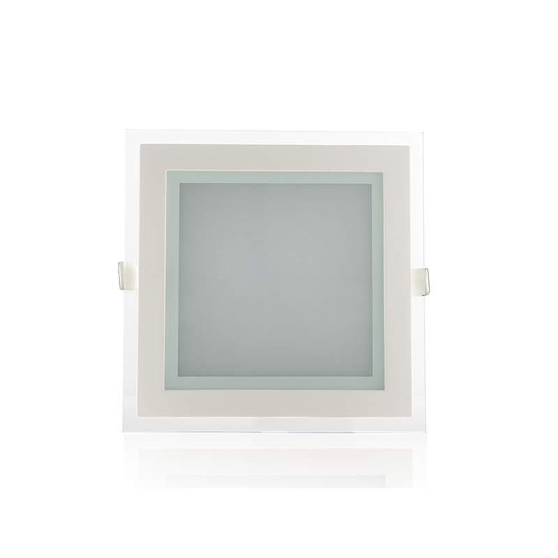 Downlights de LEDs Cuadrado con Cristal 200x200mm 15W 1150Lm 30.000H (1)