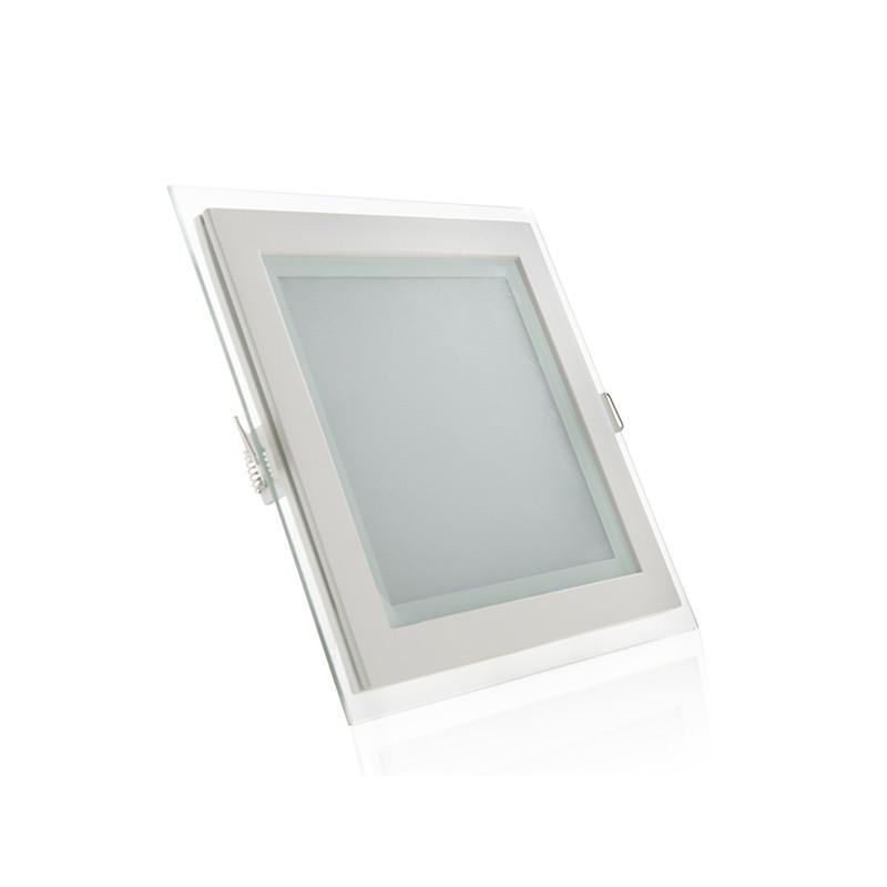 Downlights de LEDs Cuadrado con Cristal 200x200mm 15W 1150Lm 30.000H (2)