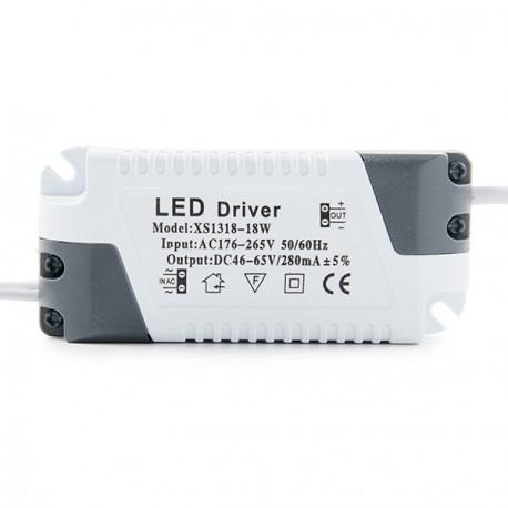 Placa de LEDs Cuadrada ECOLINE 220mm 18W