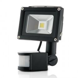 Proyector de LEDs para Exterior con Detector Movimiento 10W 850Lm 30.000H